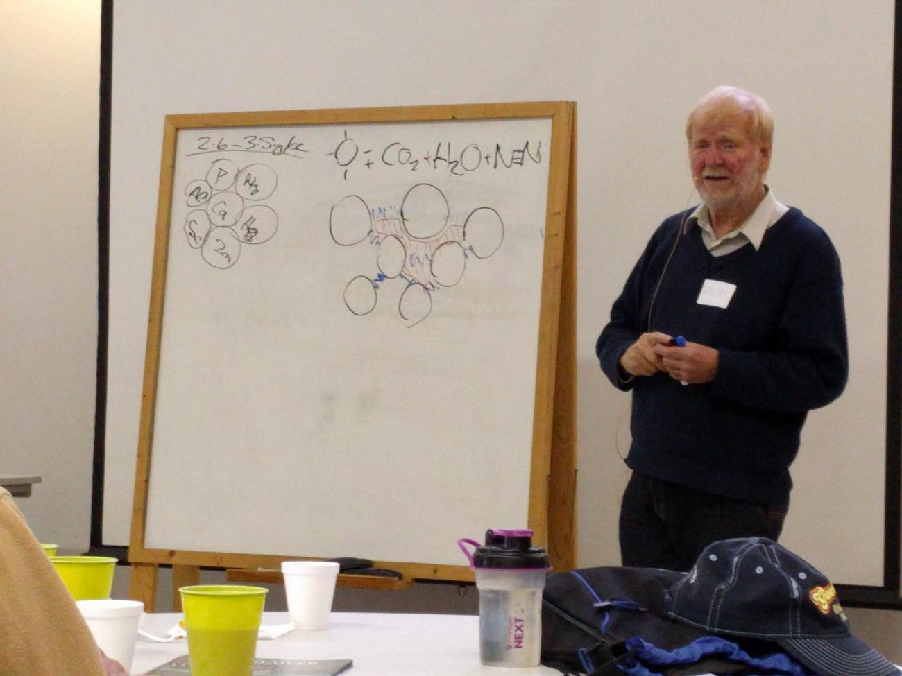Walter Jehne at Fuller Field School 2018